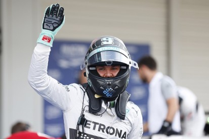 Japanese GP: Nico Rosberg beats Lewis Hamilton to Suzuka F1 pole