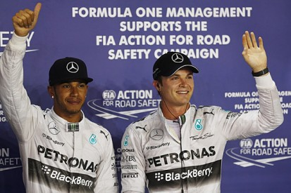 F1 title rivals Hamilton and Rosberg say their relationship is fine