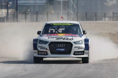 Andersson replaces Tidemand in Ekstrom's World Rallycross Audi team