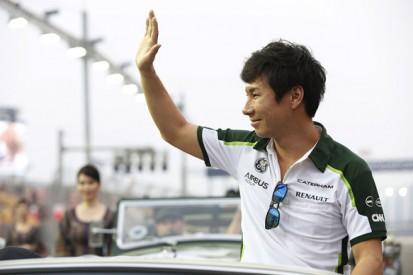 Kobayashi keeps Caterham F1 seat for Japanese GP, Merhi back in FP1