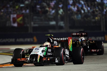 Force India F1 boss hails team's courage in the Singapore GP