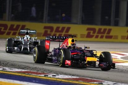 Singapore GP: Sebastian Vettel bemused by Lewis Hamilton's pass
