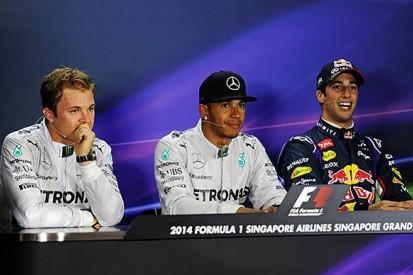 Singapore GP: Qualifying press conference