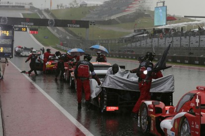 Austin WEC: Storm and crashes interrupt race, cause red flag