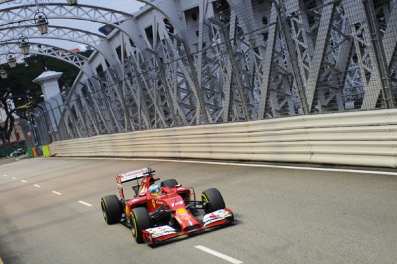 Singapore GP: Fernando Alonso and Ferrari back on top in practice