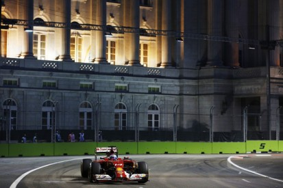 Singapore GP: Fernando Alonso leads practice one for Ferrari