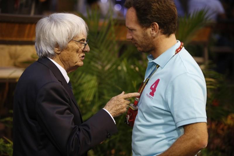 Bernie Ecclestone: F1 should have three-car teams in 2015