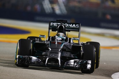 Singapore GP: Lewis Hamilton ends Friday on top for Mercedes