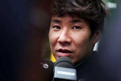 Kamui Kobayashi retains Caterham seat for Singapore Grand Prix