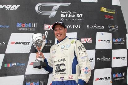 Donington Park British GT: Marco Attard crowned as Porsche duo win