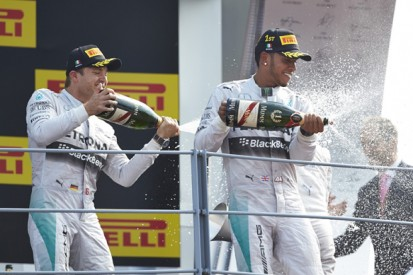 Nico Rosberg concedes Lewis Hamilton has experience edge