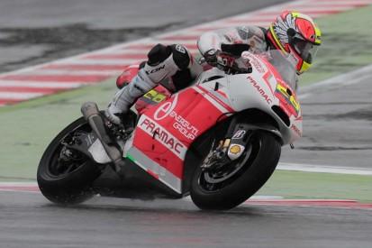 Misano MotoGP: Yonny Hernandez tops wet, crash-strewn practice