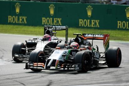 Force India F1 boss Vijay Mallya hails 'outstanding' Sergio Perez