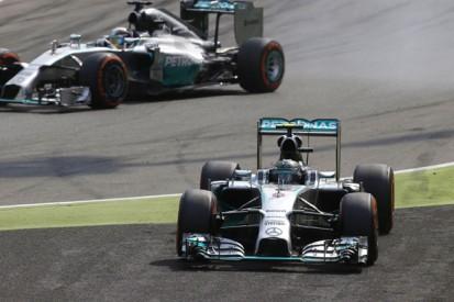 Italian GP: Nico Rosberg kicking himself for errors