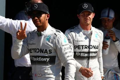 Italian GP: Mercedes certain Rosberg/Hamilton will avoid incidents