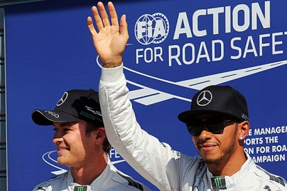 Italian GP: Mercedes' warning not on Hamilton/Rosberg's minds