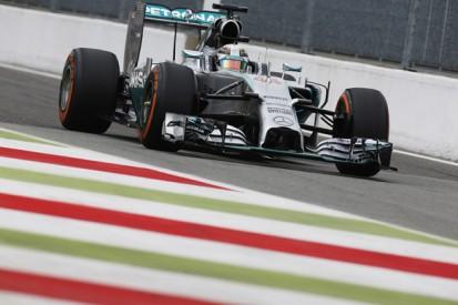 Italian GP: Lewis Hamilton leads Jenson Button in first practice