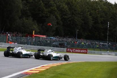 Mercedes: Rosberg and Hamilton still free to race despite collision