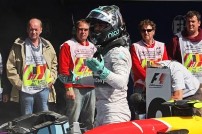 Nico Rosberg admits 'error of judgement' in Lewis Hamilton clash