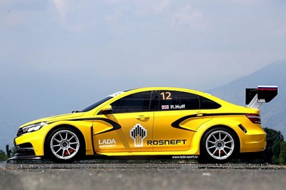 Lada's new car for the 2015 WTCC unveiled