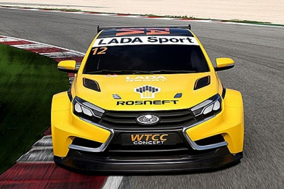 Lada expects 'huge' step forward with new WTCC car