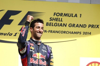 Red Bull not thinking of F1 title tilt despite Daniel Ricciardo win