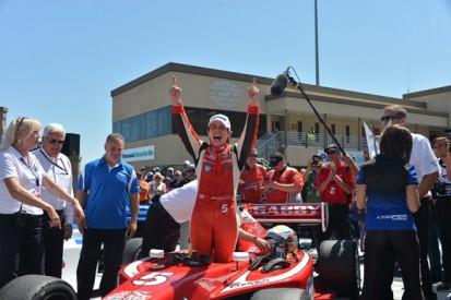 Sonoma Indy Lights: Gabby Chaves takes title as Jack Harvey wins