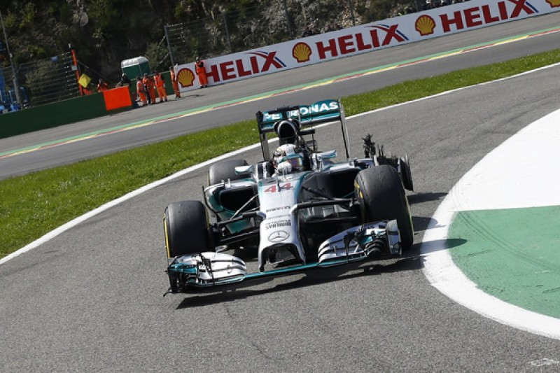 Lewis Hamilton: Nico Rosberg said Belgian GP collision deliberate