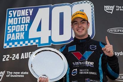 Eastern Creek V8 Supercars: McLaughlin resists Percat for Volvo win