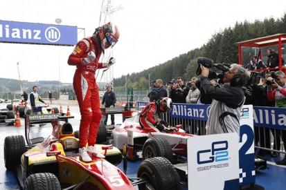 Spa GP2: Ferrari's Marciello beats McLaren's Vandoorne for win