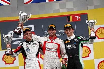 Spa GP3: Dean Stoneman wins hectic opening race