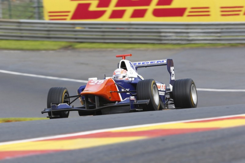 Spa GP3: Luca Ghiotto takes shock pole on series debut for Trident