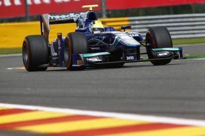 Spa GP2: Julian Leal heads practice for Carlin