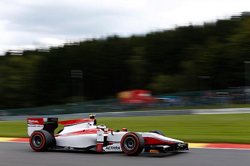 Spa GP2: Stoffel Vandoorne beats Jolyon Palmer to take maiden pole