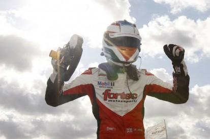 Thruxton British F3: Matt Rao wins fight with Martin Cao