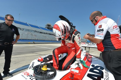 Milwaukee Indy Lights: Zach Veach beats Gabby Chaves to pole