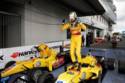 Nurburgring European F3: Giovinazzi wins after Verstappen drama