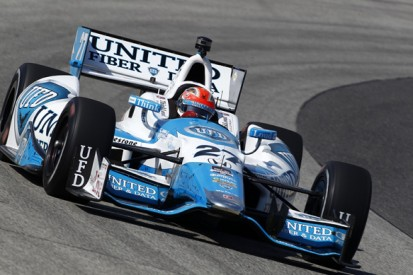 Milwaukee IndyCar: James Hinchcliffe leads first practice session