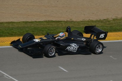 Tristan Vautier and Conor Daly begin 2015 Indy Lights car testing