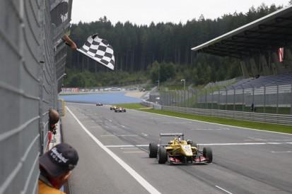 Red Bull Ring European F3: Antonio Giovinazzi scores belated win