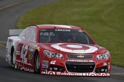 Pocono NASCAR: Ganassi's rookie Kyle Larson claims pole