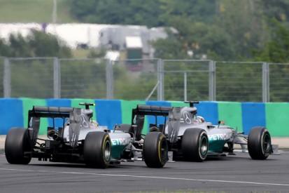 Mercedes plans team orders rethink after Hungarian GP spat