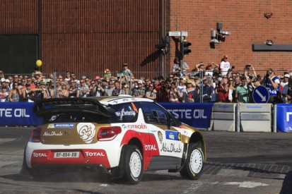 Mads Ostberg beats Marcus Gronholm in Rally Finland WRC exhibition