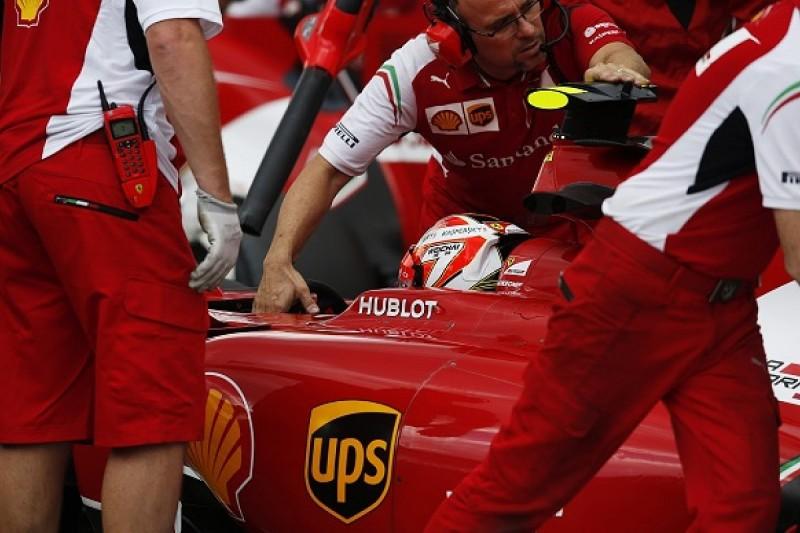 Hungarian GP: Kimi Raikkonen says Ferrari should not make Q1 errors