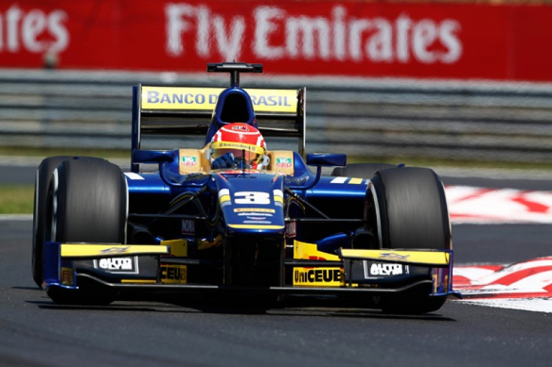 Hungaroring GP2: Felipe Nasr scores his first series pole position