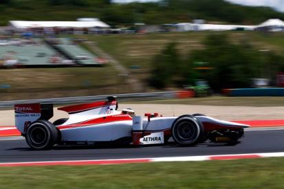Hungaroring GP2: Vandoorne tops practice as Cecotto and Palmer collide
