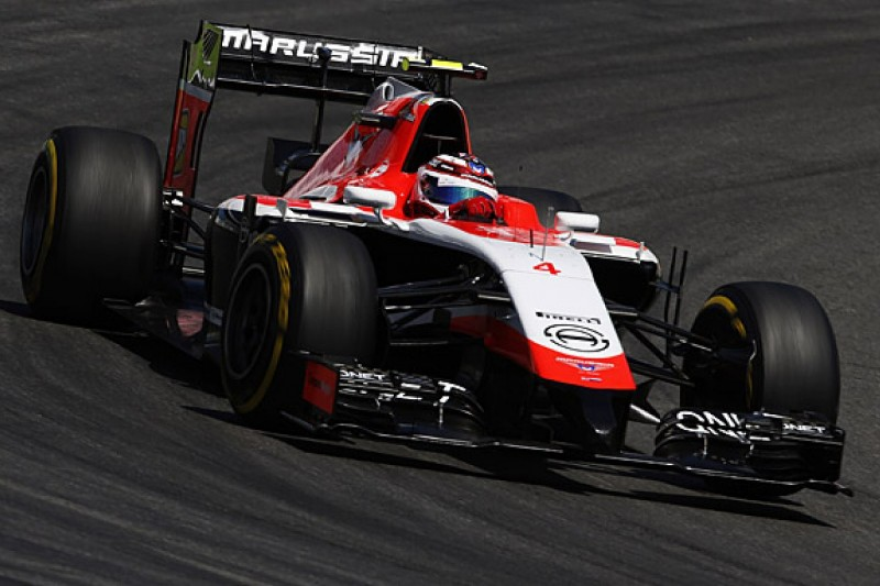 """Max Chilton changes F1 chassis after """"balance issues"""""""
