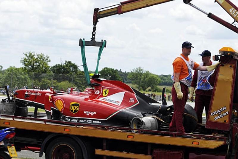 F1 drivers warned over safety after Raikkonen's British GP crash