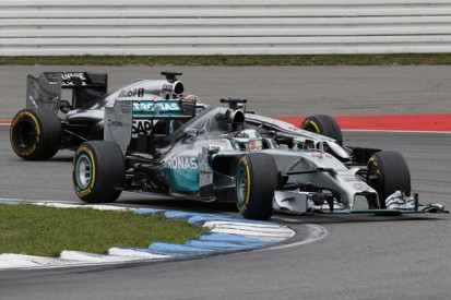 Mercedes did run Brembo rear brakes in German Grand Prix