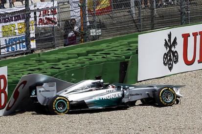 Lewis Hamilton's German GP qualifying crash to be investigated